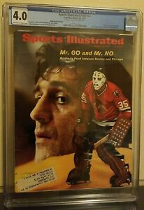 "Sports Illustrated March 29, 1971 Tony & Phil Esposito ""Mr. GO and Mr. NO"" CGC 4"