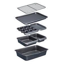 Masterclass Smartspace 7 Piece Stacking Non Stick Baking & Roasting Tin Set