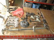 85 Honda ATC200 Rear Axle Assy Shroud Gun Rack Foot Pegs Skid Plate Parts Lot