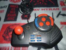 Sega Genesis Arcade Controller Quickshot QS-185 Wired Slow/Turbo/Memory