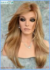 LONG BLOND HIGHLIGHTED  DESIGNER WIG SOFT FLOWING✮CLASSIC SEXY LONG STYLE