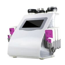 6IN1 RF Vacuum Radio Frequency Lipo Laser Ultrasonic Cavitation Fat Loss Machine