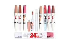 MAYBELLINE 24hr Super Stay 2 in 1 Lip Stick & Balm - CHOOSE SHADE - NEW Boxed