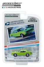 GreenLight 1:64 1970 Plymouth HEMI Cuda USPS America on the Move: Muscle 30069