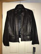 Anna Klein Leather Jacket - XL