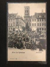 Postcard Brevkort Denmark Danmark Hilsen fra København Højbroplads unused