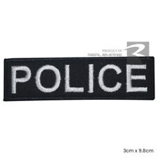Police Patch Embroidered Iron On Patch Sew On Badge Policeman Officer Police