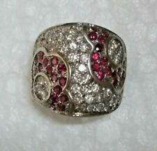 Bagues avec diamant en or blanc rubis