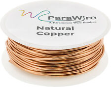 Copper Craft Wire, Parawire 22ga Natural Enameled 100' Roll