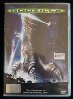 Godzilla - DVD - EX NOLEGGIO -TESTATO OK -