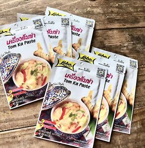 Tom Ka Paste LOBO(6): Your FAVORITE Thai Soup @HOME Lemongrass,Galangal,add Coco
