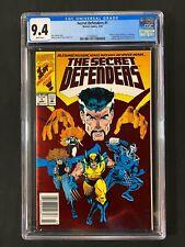 Secret Defenders #1 CGC 9.4 (1993) - RARE Newsstand Edition - Doctor Strange