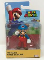 "2020 World of Nintendo Ice Mario 2.5"" Super Mario Figure Jakks Pacific Wave"