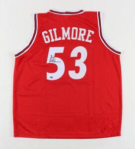 Autographed Chicago Bulls Artis Gilmore Signed Basketball Jersey (RSA Hologram)