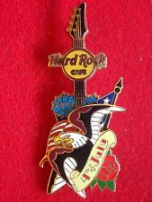 HRC Hard Rock Cafe ONLINE 4th July 2014 3d Tattoo Eagle Guitar le200