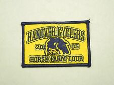 Hanover Cyclers 2005 Horse Farm Tour Embroidered Iron On Patch