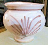 VASO FARMACIA ceramica CALTAGIRONE XIX SECOLO altezza Cm. 9,5 diametro 10