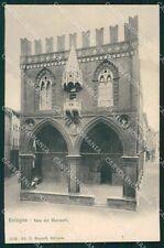Bologna Città Foro dei Mercanti cartolina XB2888