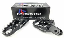 Adventure Sports CRF1000L Africa Twin Foot pegs WIDE Black Anodized Billet Alloy