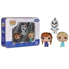 Figurine Pop Tin Funko - Disney - La reine des neiges Olaf, Elsa, Anna