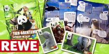 REWE WWF 10 Sticker große Auswahl Sammelbilder Tierbild