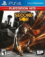inFAMOUS: Second Son - Sony Playstation 4 [NTSC PS4 Region Free Classic] NEW
