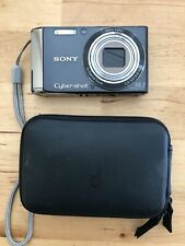 Sony Cyber-shot DSC-W370 14.1MP Digital Camera - Black Use w/ Case