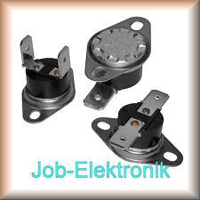 Thermoschalter Schließer/Öffner 40°-200°C 250V 10A Thermostat Temperature Switch