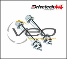 DRIVETECH 4X4 REAR LEAF SPRING FRONT GREASEABLE PINS FITS TOYOTA HILUX KZN165R