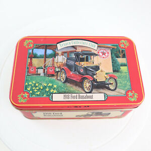 1918 Ford Runabout Texaco Collector's Club Die-Cast Metal 1/43 SCALE With Tin