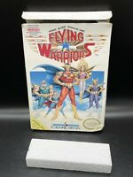 Flying Warriors (Nintendo Entertainment System, NES) BOX ONLY NO GAME OR MANUAL