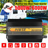 6000W 12V/24V to 220V-240V Modified Sine Wave Solar Inverter Power Converter UK