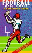 Football Made Simple: A Spectator's Guide (Spectator Guide Series)-ExLibrary