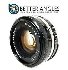 Nikon Nikkor 50mm f1.8 Series E AI-S Lens-Risk Free Guaranteed!