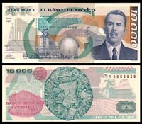 Mexico 10000 (10,000) Pesos, 1988 P-90b UNC ***