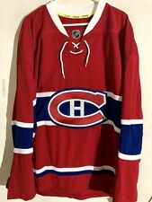 Reebok Authentic NHL Jersey Montreal Canadiens Team Red sz 60