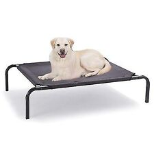 Bed Elevated Pet Dog Cot Outdoor Indoor Large Raised Frame Steel Camping 110cm