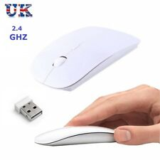 2.4 GHz USB Optical Wireless Mouse Cordless Scroll for Mac PC Laptop Imac-slim