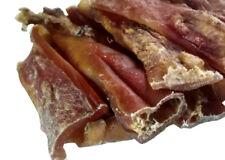 5kg Rinderkopfhaut Kaustreifen ca. 15 cm Dt. Qualität wie Rinderohren