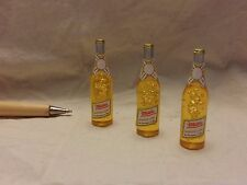 V116 Dollhouse Miniature Handmade 3pcs American Draft Light Beer re-ment 1:12