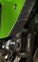 Kawasaki ZZR1400 ZX 14 2014 R&G Racing Fork Protectors FP0007BK Black