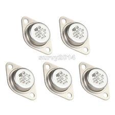 5 PCS 2N3055 TO-3 15A 60V NPN Power Transistor