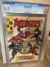 cgc Avengers #53 Marvel 6/68 X-men Magneto 6.5 Universal grade