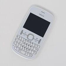 """Nokia Asha 201 2G 2.4"""" - White QWERTY FM radio - Good Condition - Virgin"""