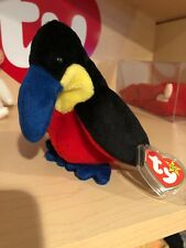 Ty Kiwi Beanie Baby 4th/3rd Generation MWMT MQ Authenticated Pin!