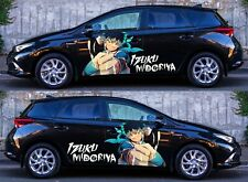My Hero Academia Anime Izuku Car Body Door Decal Vinyl Sticker fit any car