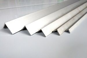 Aluminium Corner Angle Trim 90 Degrees Angle Trim ***2x1 Metre*** All Sizes