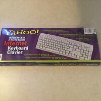 Yahoo Quick Access Internet Keyboard