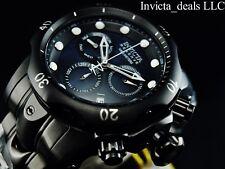 Invicta Men's Reserve 52mm Venom Swiss Chronograph Triple Black MOP Dial Watch
