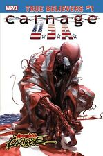CARNAGE USA #1 True Believers variant NM unread Absolute Carnage Clayton Crain